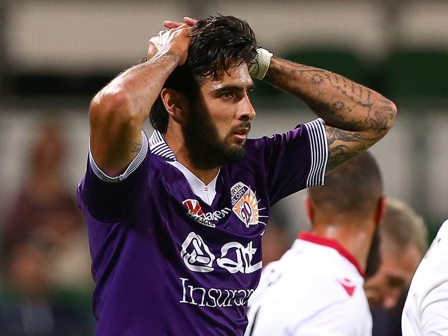 Rhys Williams at Glory. (Photo by Paul Kane/Getty Images)