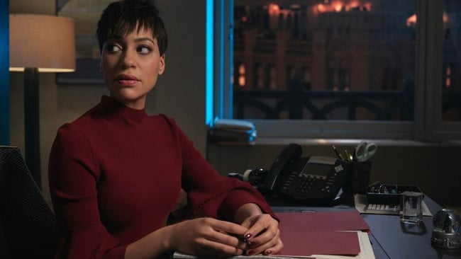 The Good Fight star Cush Jumbo's pregnancy was written into the story
