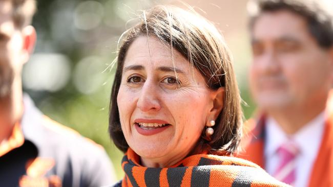 NSW Premier Gladys Berejiklian appeared at an AFL event. Mark Metcalfe/Getty Images)
