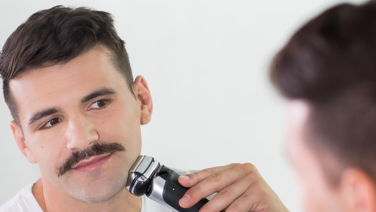 Josh Mansour unveils his new look from Braun's Sport of Shaving challenge, self titled 'The Winger'.