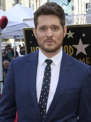 Buble has stayed very quiet about his royal connection. Picture: Willy Sanjuan/Invision/AP