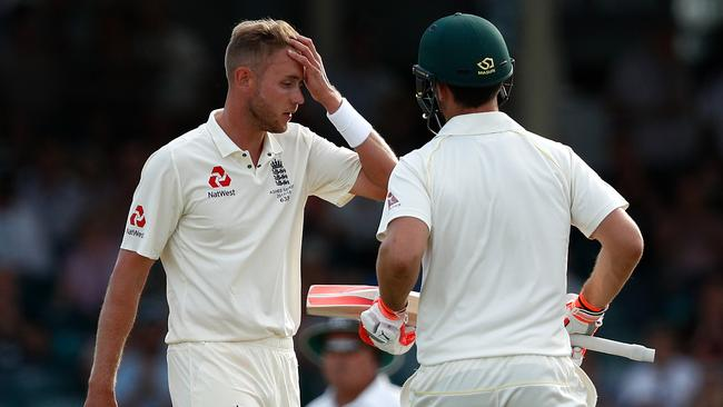 Stuart Broad had a particularly tough day.