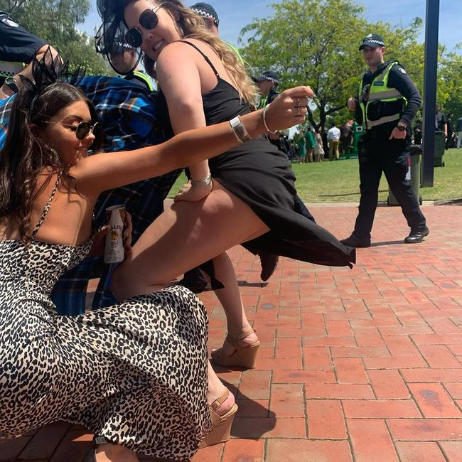 A high police presence did nothing to halt the good times. Picture: taylorjademaree/Instagram