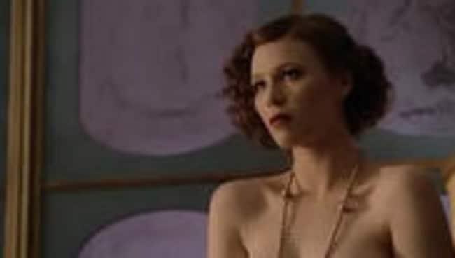 Anna McGahan in nude scene in TV show 'Underbelly: Razor'.