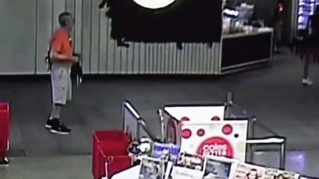 Police have released CCTV footage of Mr Fernandez on December 27.