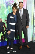 Jaden Smith and Will Smith attend the Suicide Squad world premiere on August 1, 2016 in New York City. Picture: AFP