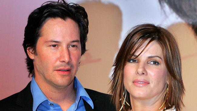 They later starred together in the 2006 film The Lake House. Picture: AP PicKoji/Sasahara