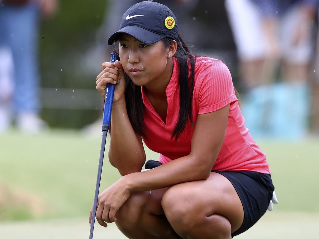 Australian golfer Stephanie Na. Pic: Sarah Reed