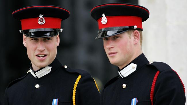 According to the insider, William and Harry rarely see their father, except for special occasions.