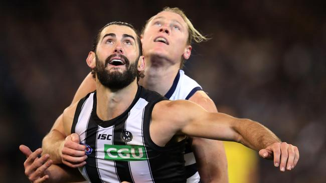 Brodie Grundy's dominance was rewarded with the Copeland Trophy.