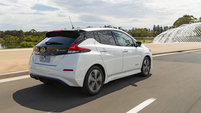 The Nissan Leaf can be driven with just one pedal.