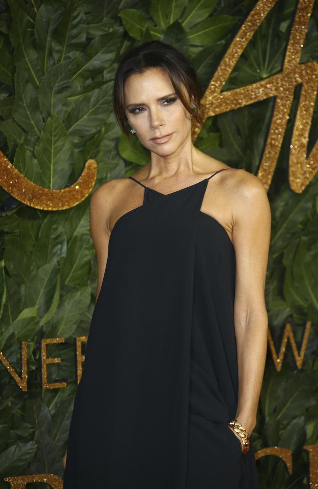 Victoria Beckham's fashion brand recently celebrated 10 years in operation. Picture: Joel C Ryan/Invision/AP