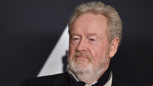 Top gong? ... Ridley Scott is favourite to take out the Best Director category at the Golden Globes. Picture: AP