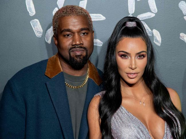 Kim Kardashian married Kanye West in 2014. Picture: Getty Images/AFP