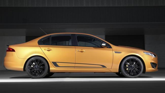 To get the GTHO upgrade kit you need to bring your own supercharged 5.0-litre V8 Falcon, such as this XR8 Sprint. Picture: Supplied.