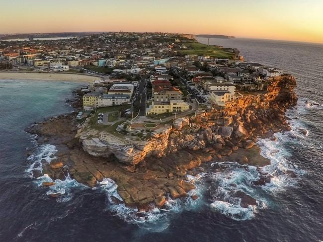 Sydney's world-class beaches make the perfect subject material for a drone. Picture: 3DR SOLO smart drone
