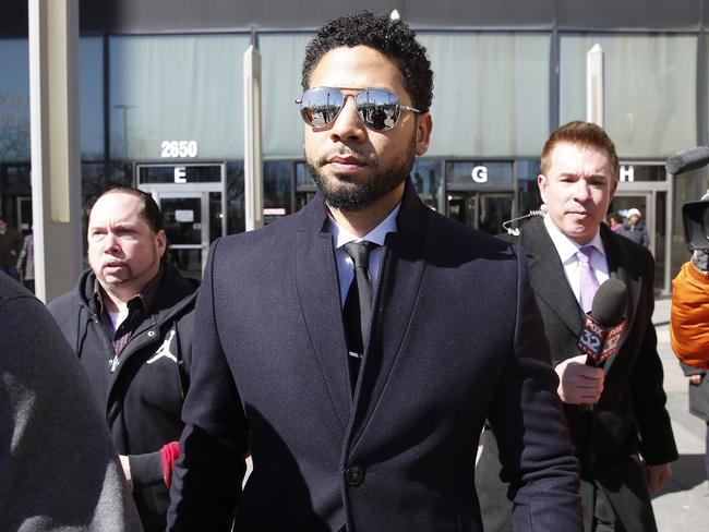 Jussie Smollett is about to receive a huge bill. Picture: Nuccio DiNuzzo/Getty Images