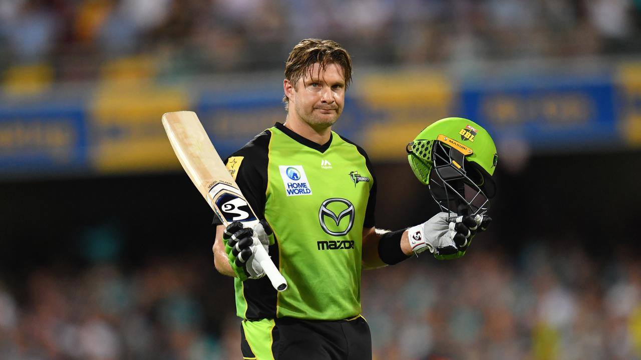 Shane Watson of the Thunder rolled back the clock against the Heat
