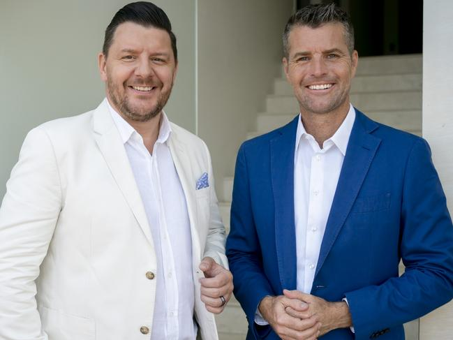 MKR's judges Manu Feildel and Pete Evans. Picture: Supplied