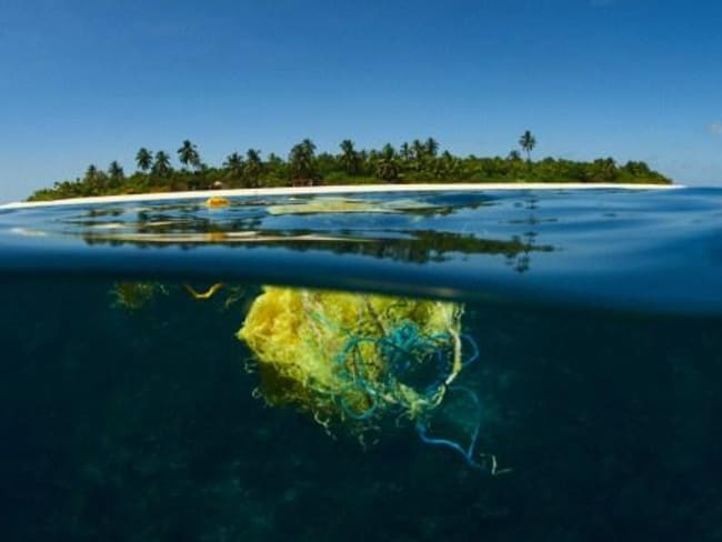 Marine plastic pollution is one of the biggest threats to human health. Picture: Corona/Parley