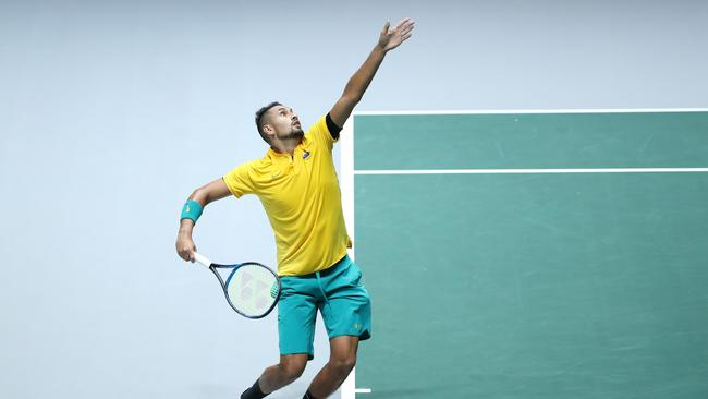 Nick Kyrgios. (Photo by Alex Pantling/Getty Images)