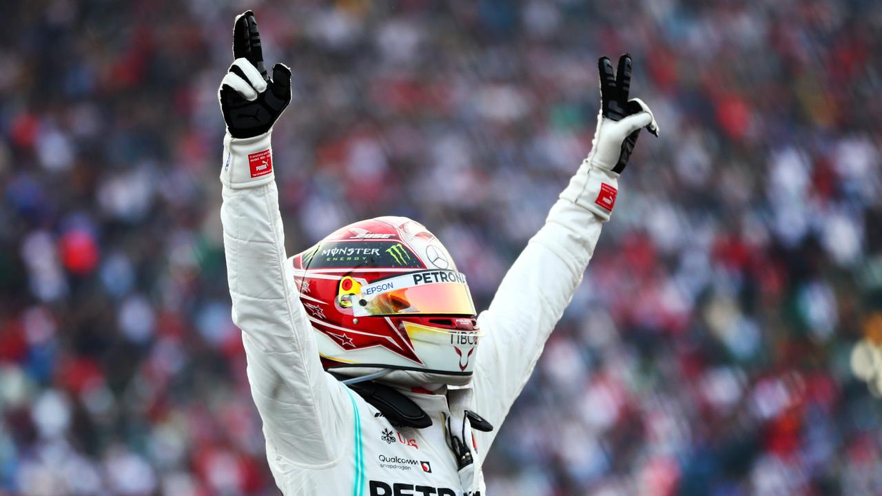 Lewis Hamilton can finish as low as eighth next week and claim the title.