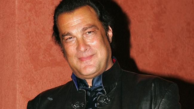 The unnamed Hollywood exec alleges the harassment occurred just after Seagal's wife had given birth. Picture: AP / Mark J. Terrill.