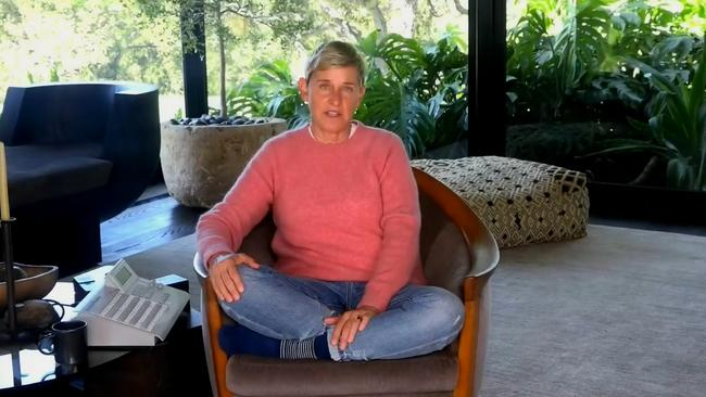 Ellen's been weathering a fierce backlash as she continues filming her talk show from her home.
