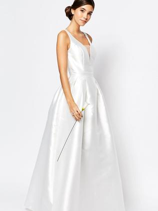 Hm and asos affordable wedding dresses are they worth it this asos dress is a bargain at 152 junglespirit Choice Image