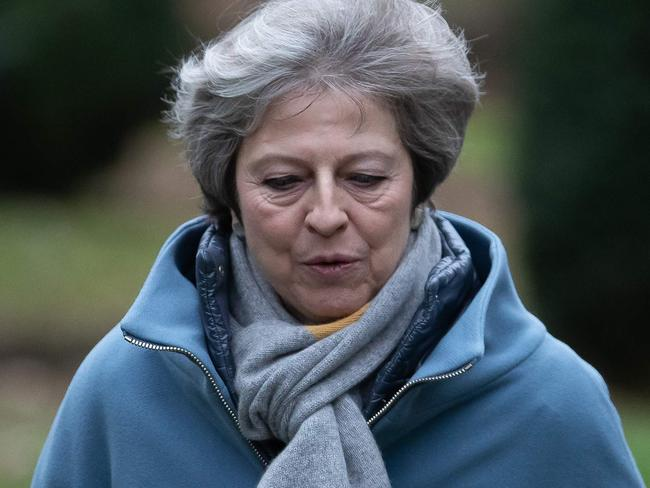 UK Prime Minister Theresa May warned MPs preparing to vote down her EU divorce deal that failing to deliver Brexit would be a 'catastrophic and unforgivable breach of trust in our democracy'. Picture: Daniel Leal-Olivas/AFP