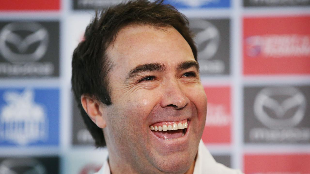 Brad Scott is looking forward to spending time with family and working on his golf handicap after stepping down as North Melbourne coach. Photo: Michael Dodge/Getty Images.