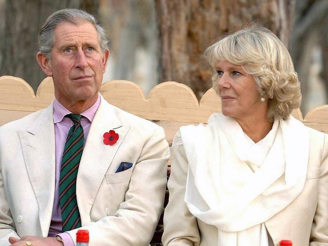 The Duke and Duchess of Cornwall in Pakistan in 2006.