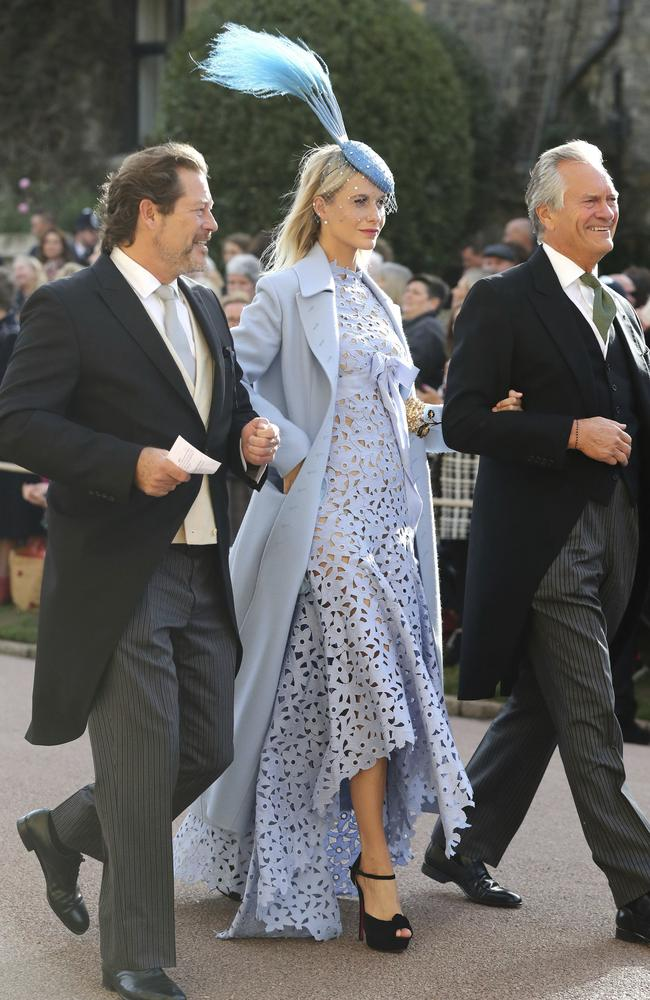 Cara's sister Poppy Delevingne looked magnificent, though that hat was slightly inconsiderate for the people sitting behind her in the church who were craning their necks to see Prince George picking his nose during the ceremony.