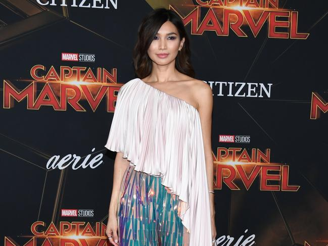 Gemma Chan thinks Captain Marvel is groundbreaking. Picture: Robyn Beck / AFP