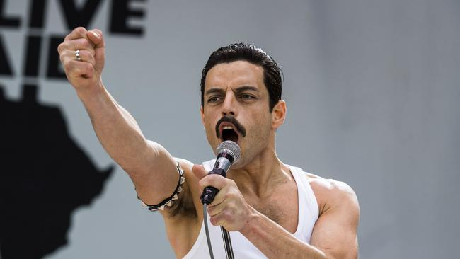 Bohemian Rhapsody: Critics hated it, audiences loved it. Picture: Alex Bailey/Twentieth Century Fox via AP