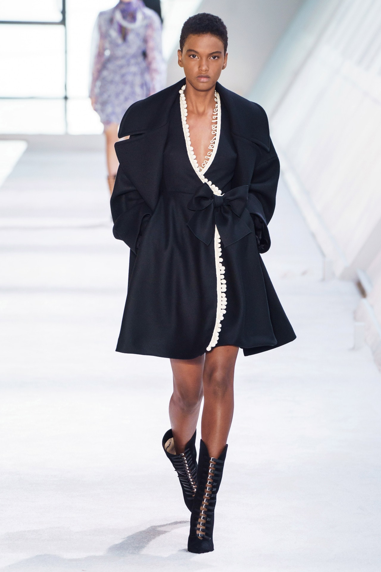 9b640ec03 Suzy Menkes at Paris Fashion Week ready-to-wear autumn/winter '19'20 ...