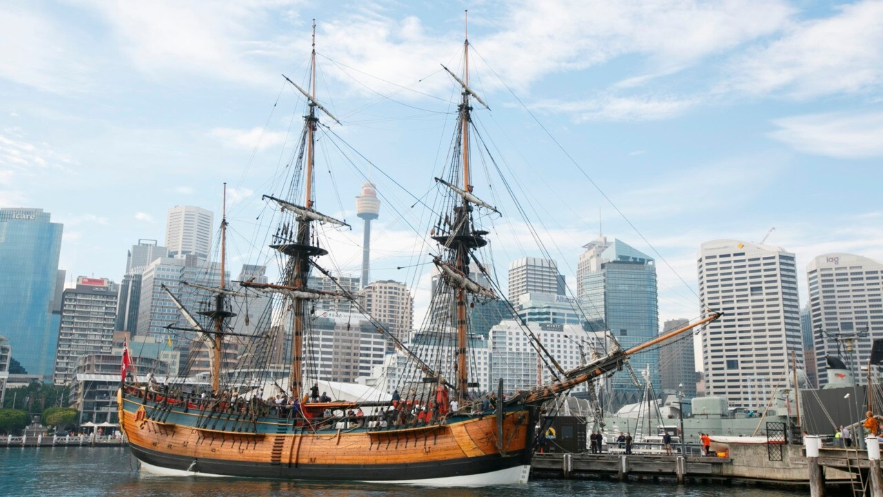 Banning of Endeavour replica in NZ town is 'immature'