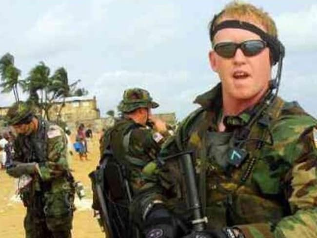 Former Navy SEAL Robert O'Neill who says he killed Osama bin Laden. Picture: Instagram