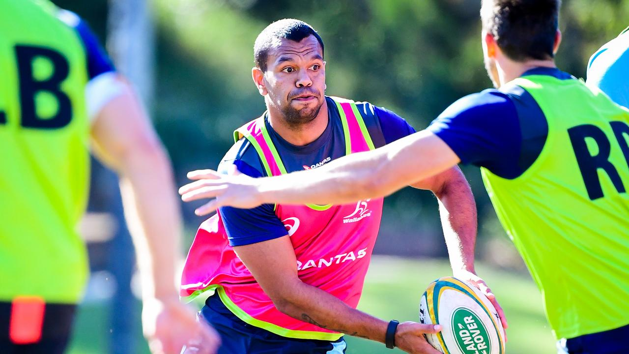 Kurtley Beale is the leading candidate to wear the No 15 jersey for the Wallabies. Photo: Rugby AU Media/Stuart Walmsley