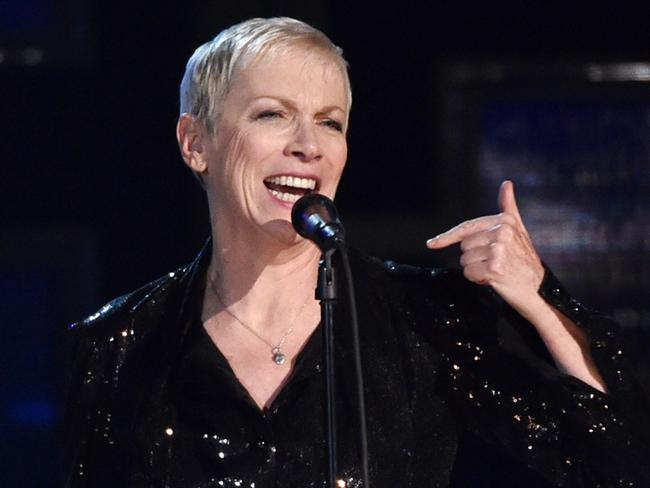 A masterclass ... Annie Lennox on stage. Picture: John Shearer/Invision/AP