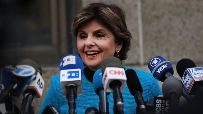 Famed lawyer Gloria Allred is representing a number of Harvey Weinstein's alleged victims. Picture: AFP
