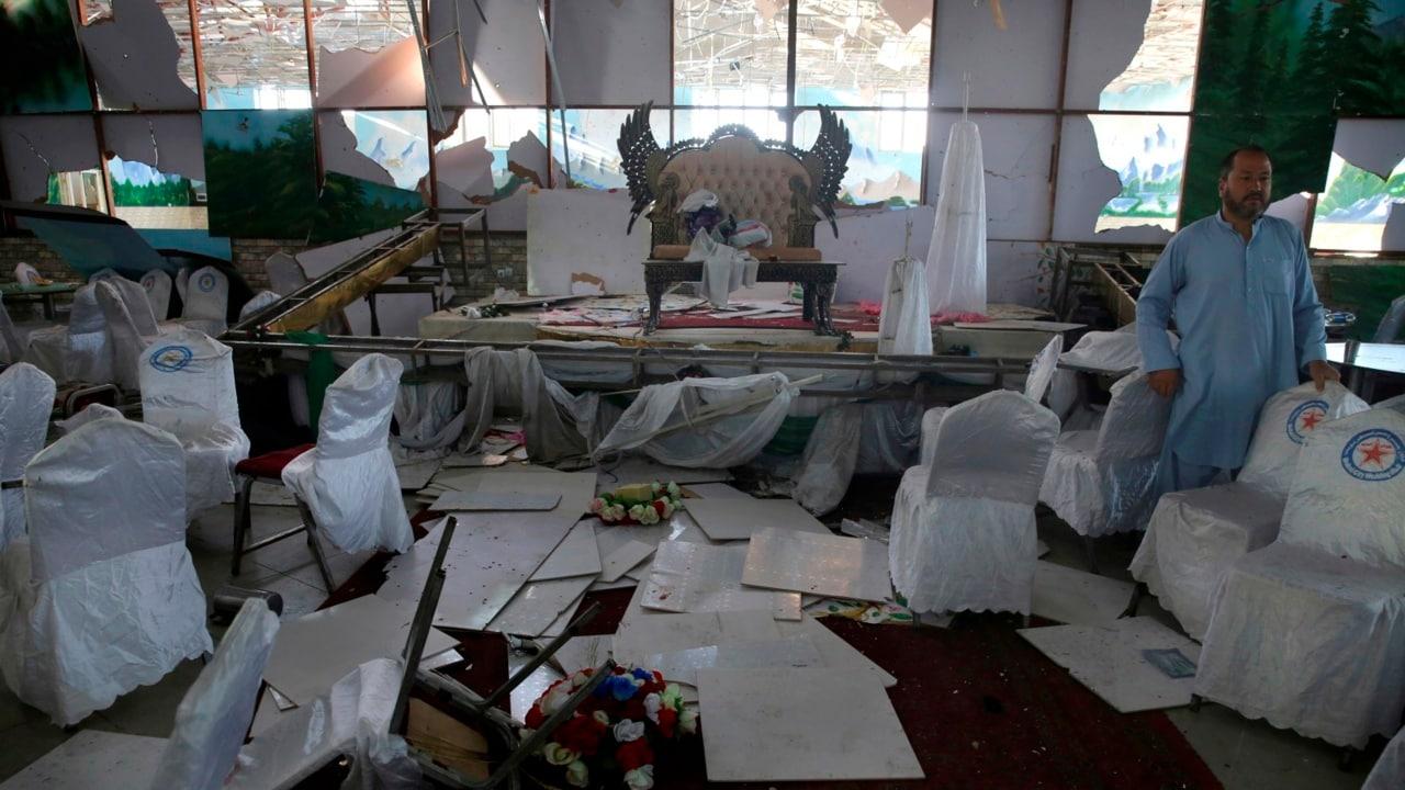Wedding explosion kills at least 63 in Kabul