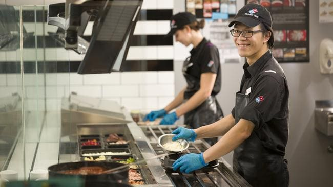 Domino's recorded sales of $2.59 billion last year.