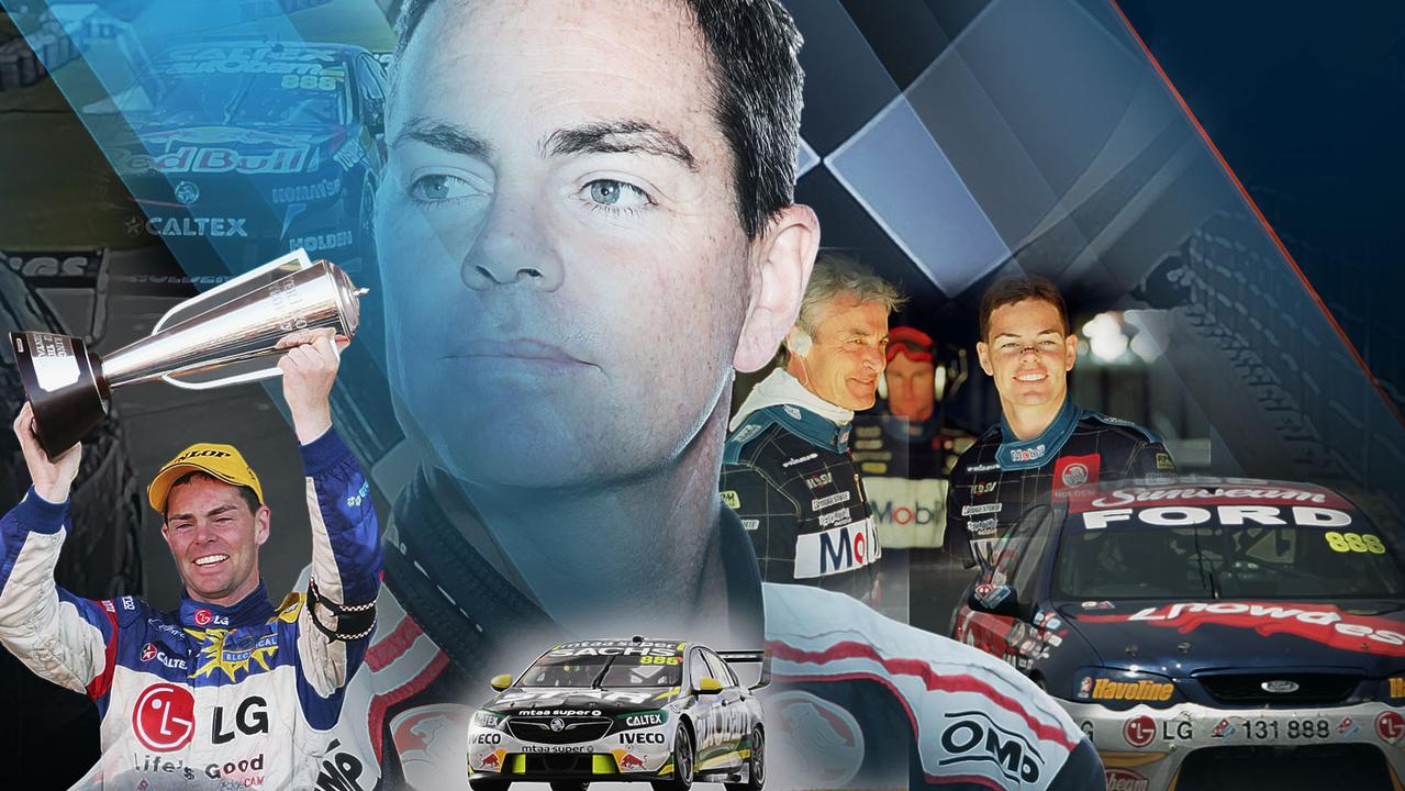 Craig Lowndes drops the chequered flag on his full-time racing career.