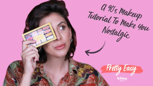 Pretty Easy: A 90's Makeup Tutorial To Make You Nostalgic