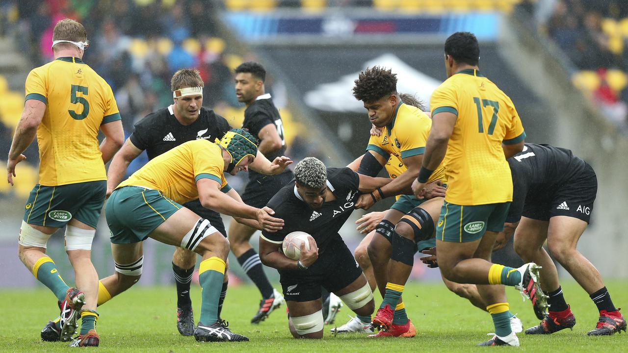 All Blacks claimed this week that referee Paul Williams failed to crack down on off-the-ball tactics.