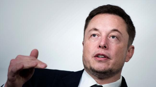 Musk is dealing with the fallout from his weekend house guest. Picture: AFP