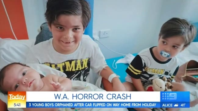 Horror WA car crash leaves children orphaned (Today Show)