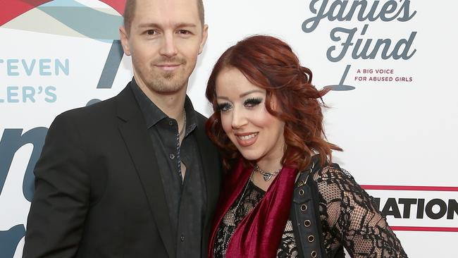 Lynsi Snyder, pictured with fourth husband Sean Ellingson earlier this year. Picture: Tommaso Boddi/Getty Images for Janie's Fund