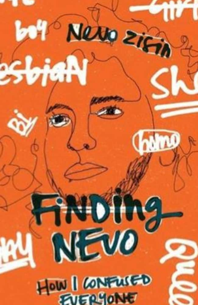 Book cover of <i> Finding Nevo, How I Confused Everyone</i> by Melbourne gender activist, Nevo Zisin.